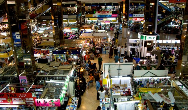 Bangkok's Pantip Plaza